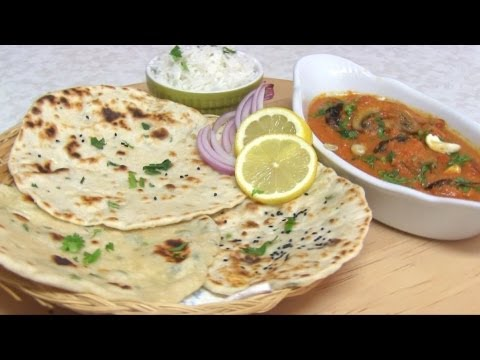 No Yeast Naan Recipe Video - Quick & Easy Yeast free naan or Pizza dough Recipe!