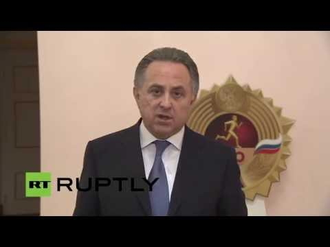 LIVE: Mutko comments after Russia was accused by anti-doping in doping fraud