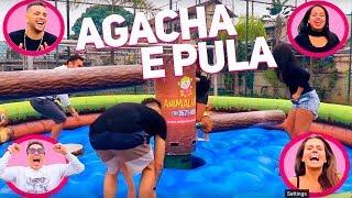 GINCANA: AGACHA E PULA COM MC WM, GRACIE CARVALHO, JOYCE | #HottelMazzafera