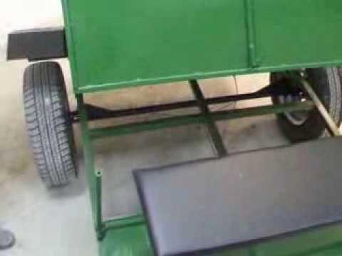 Прицеп для мотоблока под