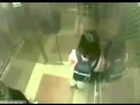 Man Tries To Rape Her In The Elevator   Look What Happens! video