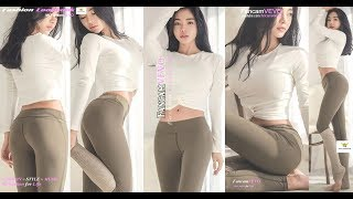 [FASHION LOOKBOOK] [DIY CLOTHES | STYLING CROP TOP WITH OLIVE LEGGINGS FOR YOGA ft SR] by FancamVEVO