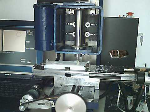 DIY CNC milling machine