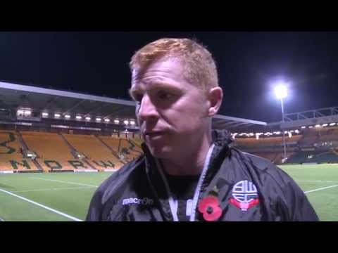 NEIL LENNON | Manager's post-Norwich reaction