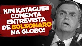 BOLSONARO NO JORNAL NACIONAL | Kim Kataguiri comenta.