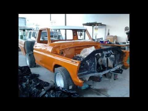 restauracion de ford 73 en San Luis De La Paz gto 2012