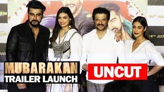 UNCUT - Mubarakan Trailer Launch | Arjun Kapoor, Anil Kapoor, Ileana D