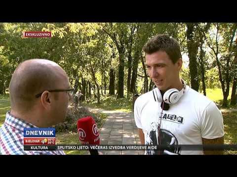 Mario Mandžukić, govori za Dnevnik Nove TV