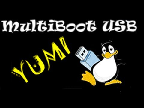 Como hacer un PenDrive USB Multiboot con varios sistemas operativos usando YUMI