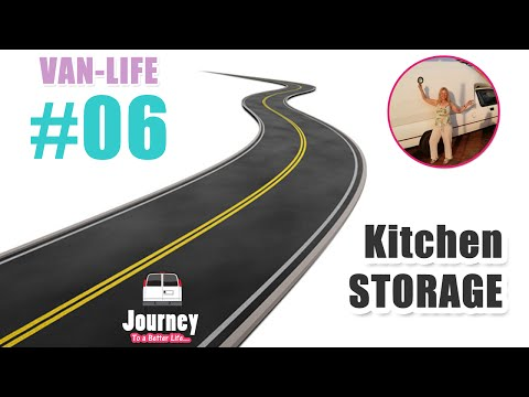 Kitchen - Food, Dishes, Spices, Cleanup & more (Detailed Version) - Van-Life #06