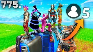 ONLY 5 PLAYER GAME!! - Fortnite Funny WTF Fails and Daily Best Moments Ep. 775
