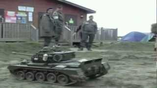 War and Peace, tanks in the mud!