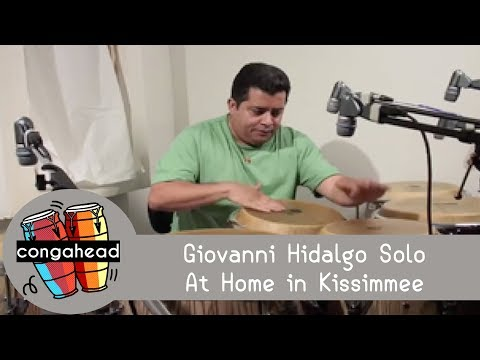 Giovanni Hidalgo solo. At home in Kissimmee Video