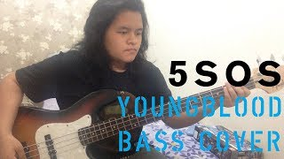 Download Lagu 5 Seconds Of Summer - Youngblood (Bass Cover) Gratis STAFABAND