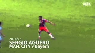Six GREAT Manchester City GOALS | UEFA Champions League