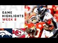 Lagu Broncos vs. Chiefs Week 8 Highlights   NFL 2018