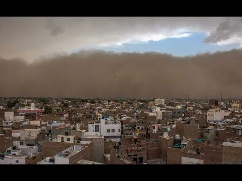 Thunderstorm Alert | Dust Storm Lashes Delhi and Haryana | ABN telugu