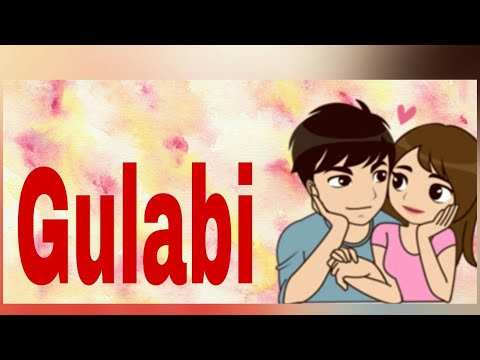 Whatsapp status video/ holi special/ Gulabi whatsapp video song with lyrics/ shuddh desi romance