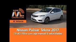 Nissan Pulsar 2017 / Al volante / Prueba dinámica / Review / Supermotoronline.com
