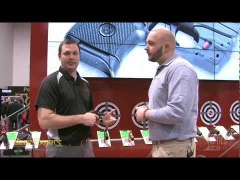 Crimson Trace Green LaserGrips at SHOT Show 2013 Video