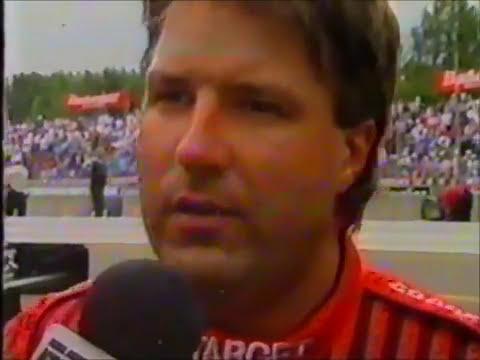 ALÔ ESPECIAL de Michael Andretti no pit lane de Portland em 1994