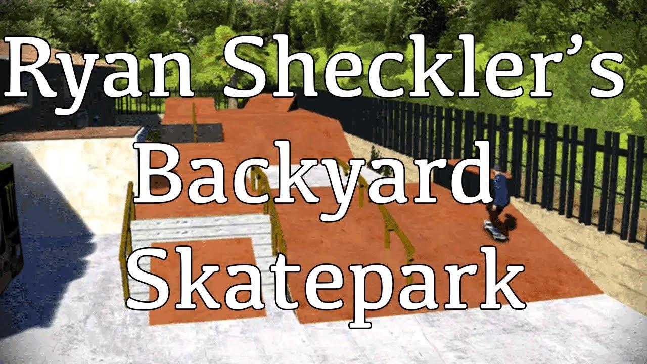 Backyard Skatepark Game : Ryan Shecklers Backyard Skatepark in Skate 3 (wDownload)  YouTube