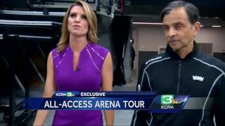 Kings owner Vivek Ranadive gives exclusive tour of Golden 1 Center