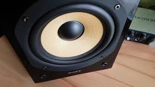 Sony SS-CG1 Kevlar Speaker soundquality test