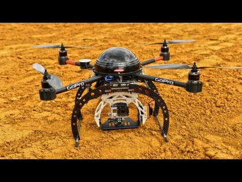 DroidWorx UAV The Quadcopter Elite 2013