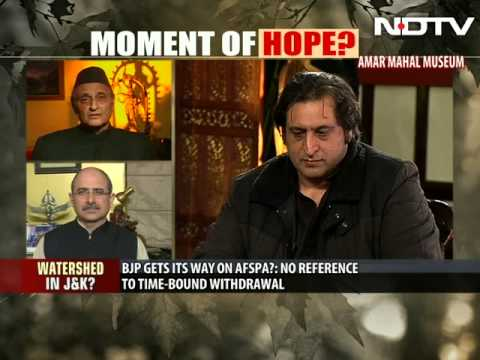 Yes, it's a moment of hope: Separatist-turned-minister Sajad Lone