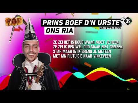 �ROB// Prins Boef d'n Urste ft. Rob van de Radio - Ons Ria