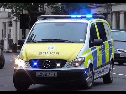 British Transport Police // SRU Van + Response Car Responding