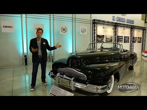 Cadillac LeMans, Buick Y Job & ALL 3 GM Firebird Concept Cars: A tour the GM Motorama