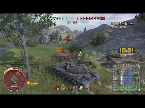World of Tanks Xbox one Alpine Tiger WZ-111 4 Kills (M)