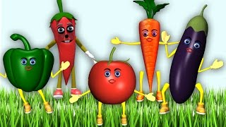 Vegetable Rhymes - Fruits Rhymes for Children in English