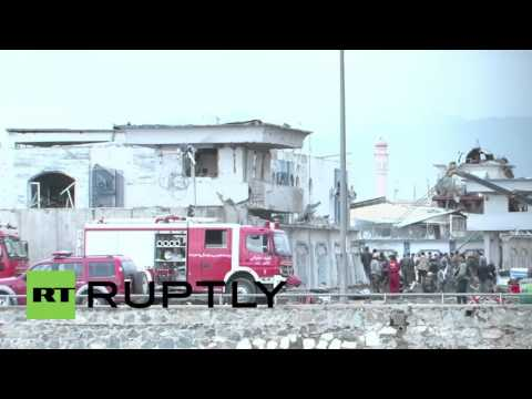 Afghanistan: Taliban suicide car bombing leaves 28 dead in Kabul