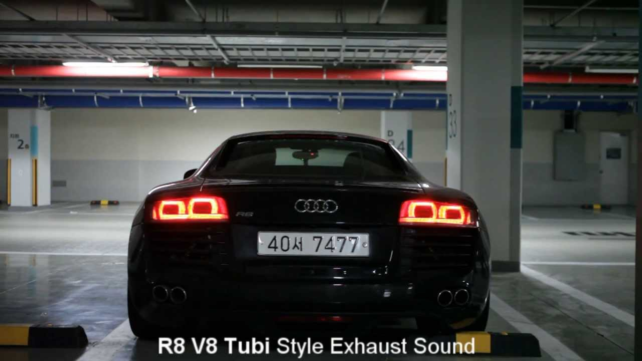 [KETOSI] Audi R8 V8 & V10 Tubi Style Exhaust Sound (Compare) - YouTube
