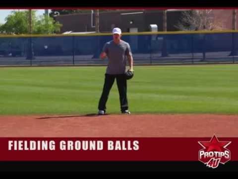 Baseball Fielding Videos Baseball Tips Fielding Ground