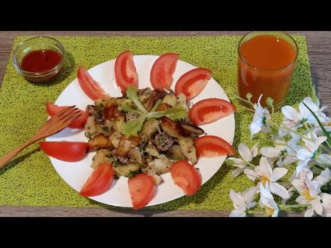 Картофель с мясом запеченный в рукаве - простое и вкусное блюдо!