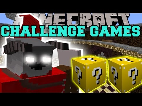 Minecraft: Demon Lord Challenge Games - Lucky Block Mod - Modded Mini-game video