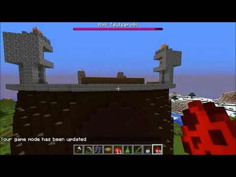 Minecraft: DEMON LORD CHALLENGE GAMES - Lucky Block Mod - Modded Mini-Game