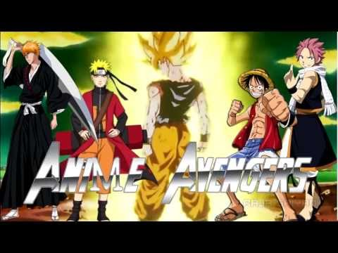 [ Amv ] Anime Avengers 2 [naruto Shippuden Bleach One Piece Dragon Ball Z Fairy Tail] Trailer 2014 video