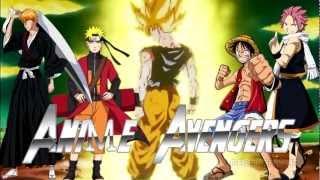 [ AMV ] Anime Avengers 2 [Naruto Shippuden Bleach One piece Dragon Ball Z Fairy Tail] trailer 2014