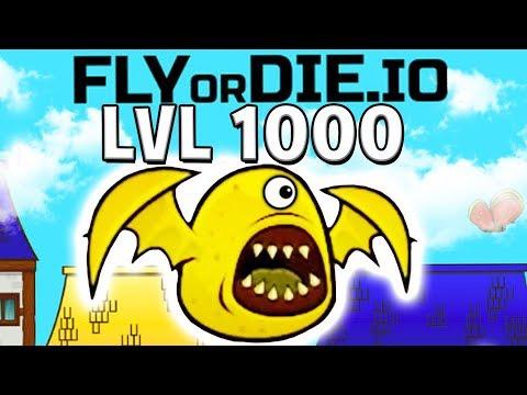STRONGEST ANIMAL MUTATION IN SPACE MAX LEVEL - FlyOrDie.IO