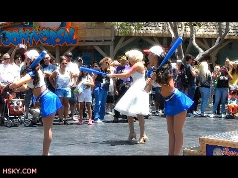 V#67 Hsky New Baseball Show Marilyn Monroe & Diamond Girls Summer 2014 Hd Universal Hollywood video