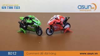 Xe Moto (Mô tô) Điều Khiển Từ Xa 8012 RC 2.4Ghz - Asun.vn