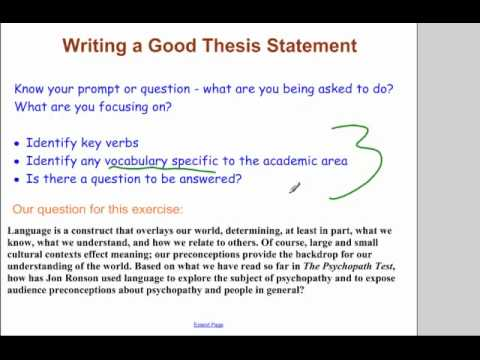 opinion essay thesis statement examples