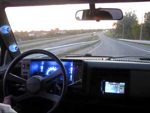 Ride Along with mods 93 S10 Blazer - YouTube