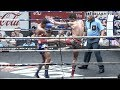 Muay Thai - Puenkon vs Pichitchai (ปืนกล vs พิชิตชัย), Rajadamnern Stadium, Bangkok, 2.11.17.