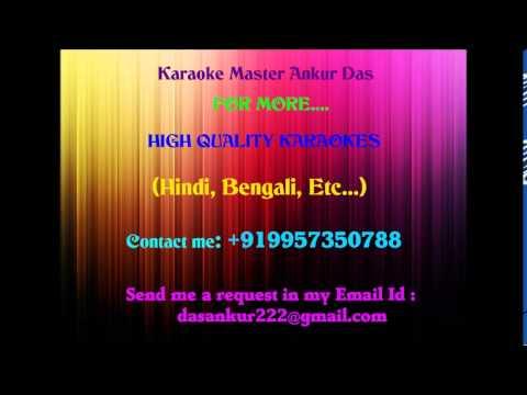 Tum Aa Gaye Ho Noor Aa Gaya Hai Karaoke   Aandhi By Ankur Das...